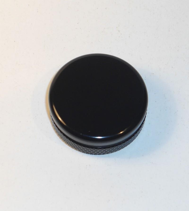 Black Satin Subaru Forester Rear Wiper Delete Plug Anodized Plug