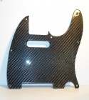 Telecaster 8 Hole Pickguard Carbon - Single Coil