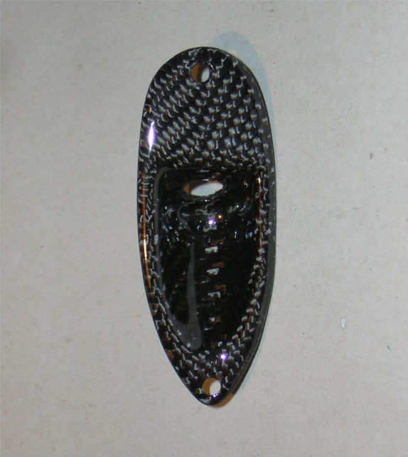 Stratocaster Jackplate Carbon