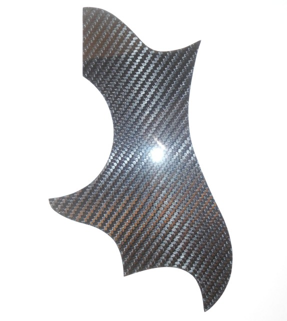 Gibson Dove Style Carbon Fiber Pickguard